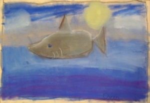 Painting by Delphi Academy Student Owen Rappoport