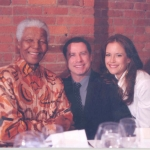 Meeting with Nelson Mandela