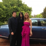 Kelly, John and Ella leaving for the Academy Awards