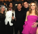 Kelly and John with Oscar winner Jared Leto