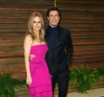 Kelly and John at the Vanity Fair party